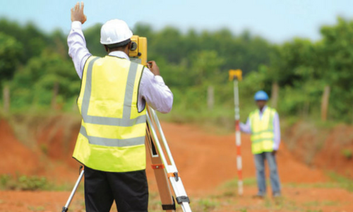 Measurement Of Land And Property : Definition of surveying civil snapshot