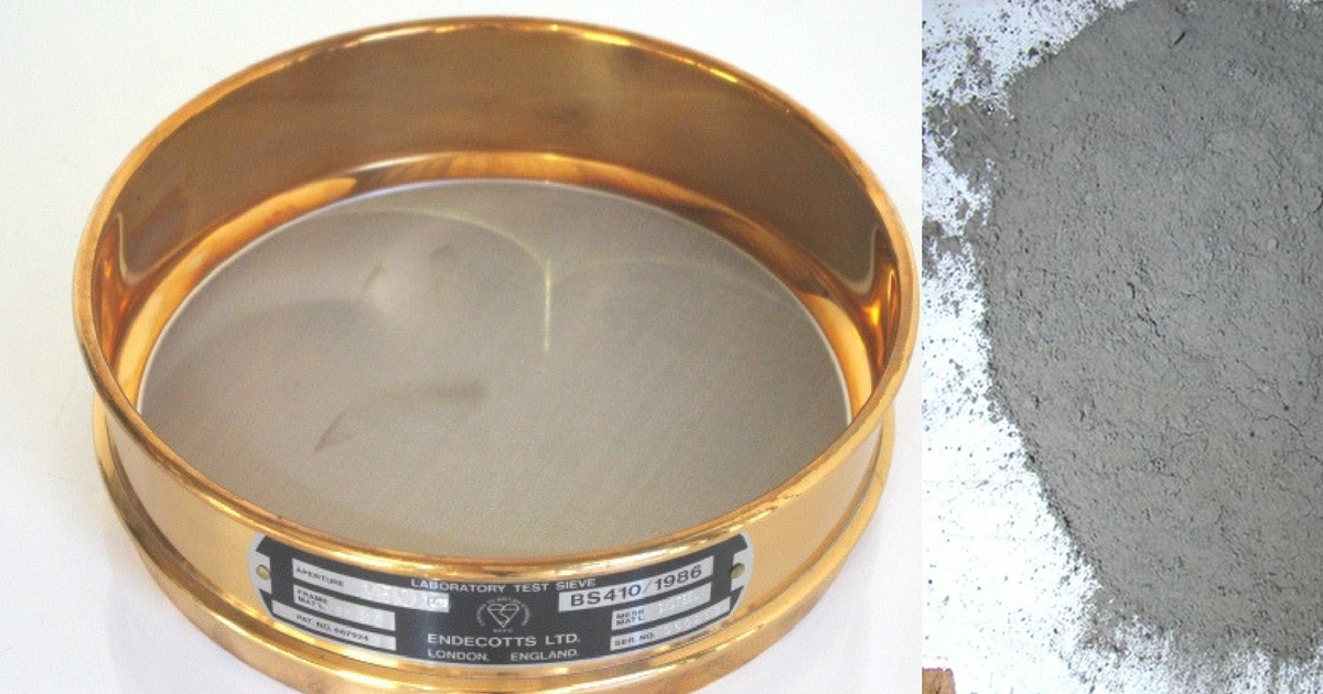 Image result for To determine the fineness of cement by dry sieving as per IS: 4031 (Part 1) - 1996.