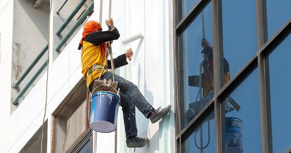 Process of Building Painting Work - Civil Snapshot